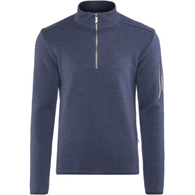 Ivanhoe of Sweden Assar Half Zip Sweater Men steelblue